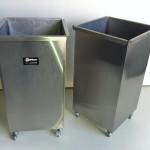 Cestos de lixo em Aço Inox