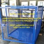 Armário tipo gaiola de armazenamento de produtos