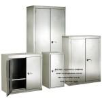 armários em aço inoxidável