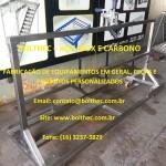 carrinho para set up de equipamentos