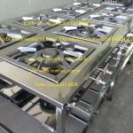 fogão industrial inox 8 bocas