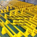 suporte de proteção em aço inoxidável