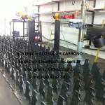 suportes personalizados em aço inoxidável