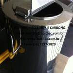 tanque em aço inoxidante com isolamento térmico